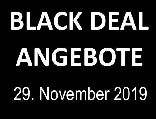 Black Deal Angebote am 29. November 2019